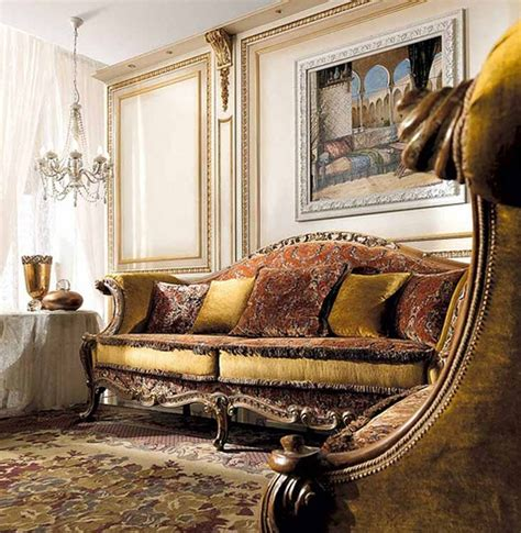 Luxury Living Room Sofa sofas luxury classic living room furniture chandelier classic sofas antique details