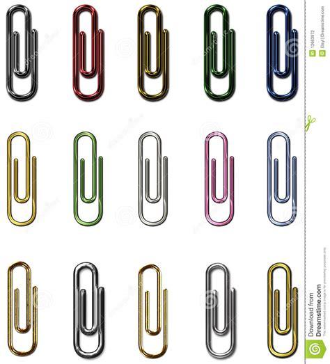 paper metal set stock photography image 12663972