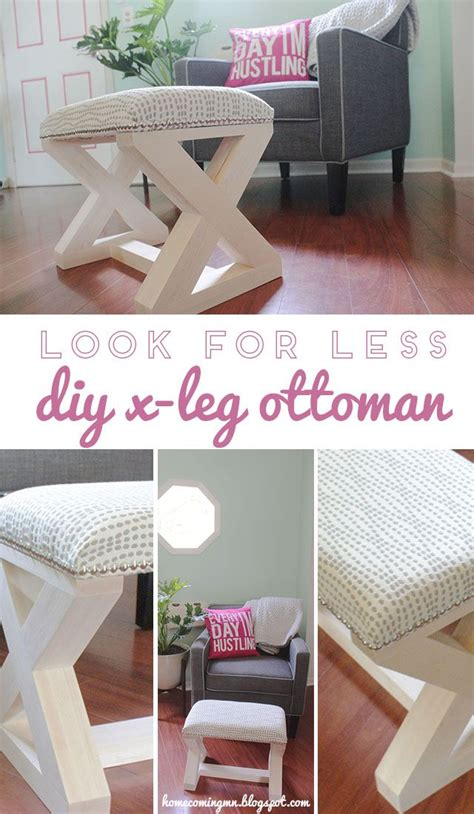 how to build an ottoman with legs best 25 diy ottoman ideas on pinterest diy storage pouf