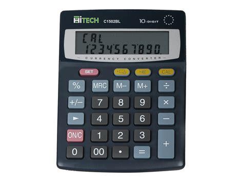 calculatrice de bureau hitech c1502bl calculatrice de bureau calculatrices de