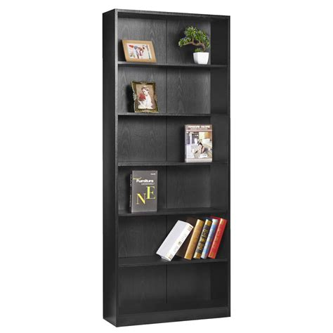 Black Bookcase Corner Bookcases Sculpted Black Wood Black Wooden Bookshelves