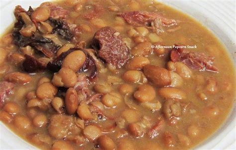 ham hocks n beans food sides pinterest