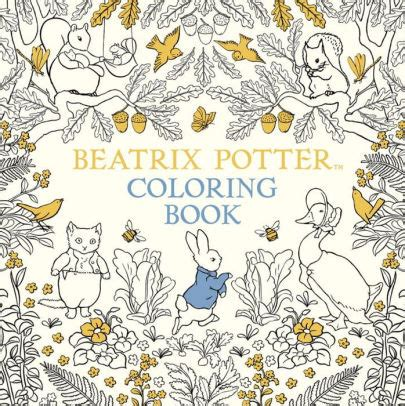 harry potter coloring books barnes and noble the beatrix potter coloring book by beatrix potter