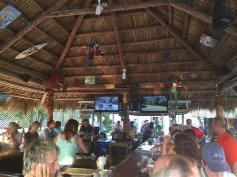 Osprey Tiki Bar Relaxing Waterfront Tiki Bar Picture Of Casey Key Fish