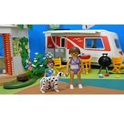 Playmobil Summer Fun Camping 5434 CARAVANE Caravan  YouTube
