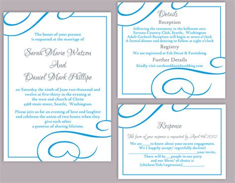 Cheap Aqua Wedding Invitations by Turquoise Wedding Invitations Gangcraft Net