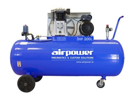airpower 3hp 200 litre compressor 30 sale free delivery