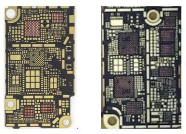 leaked iphone  logic boards suggest intel modem