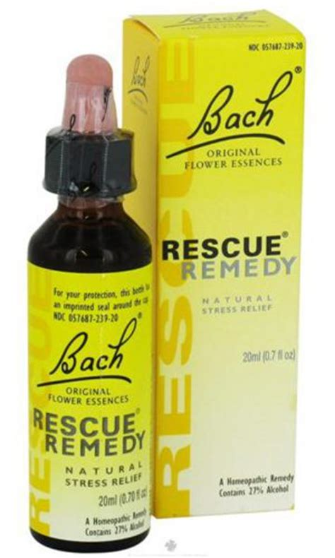 In Bottle 20ml Pacific Real Floral Toner flower remedies rescue in 20ml from bach original