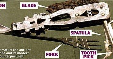 Pisau Saku Swiss Army benda tertua yang pernah ditemukan di dunia the guzlint