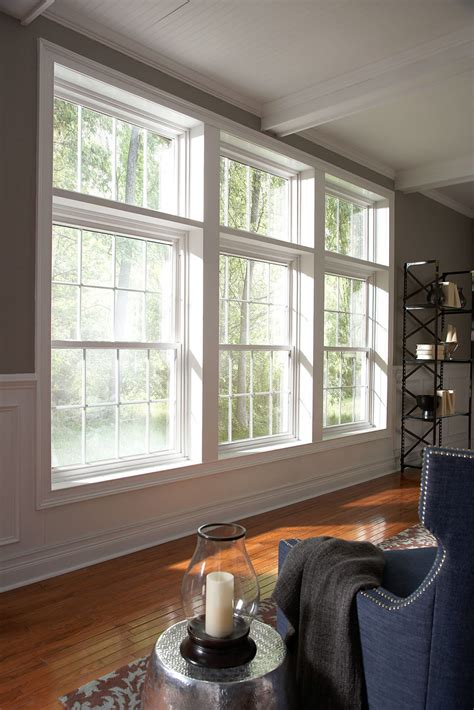 Improving Curb Appeal - double hung replacement vinyl windows by window world