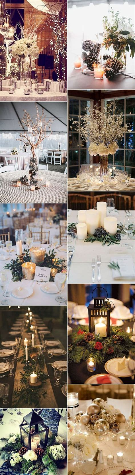 Wedding Ideas For Winter by 25 Best Ideas About Winter Wedding Decorations On