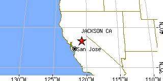jackson california map jackson california ca population data races housing