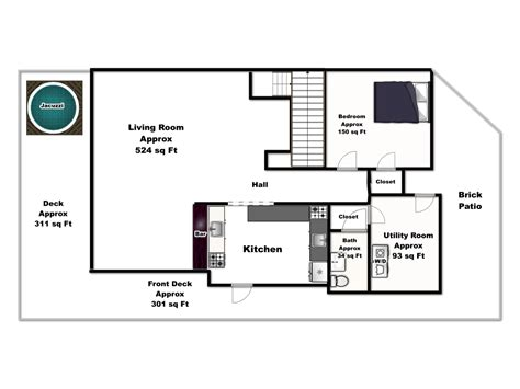 lakeside floor plan lakeside serenity main floor floorplan