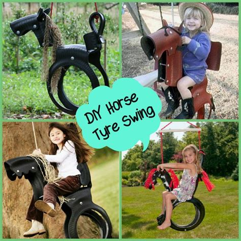 how to make horse tire swing 25 unique tire swings ideas on pinterest diy tire swing