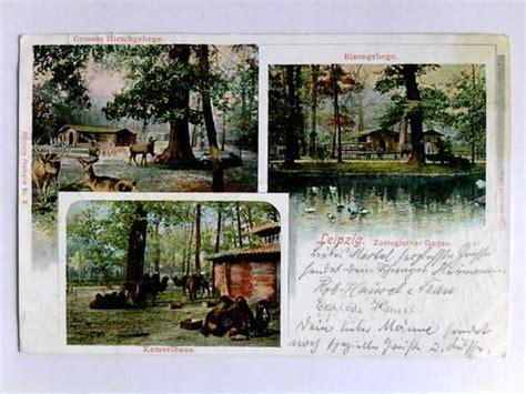 Zoologischer Garten Leipzig Preise by Postkarte Leipzig Zvab