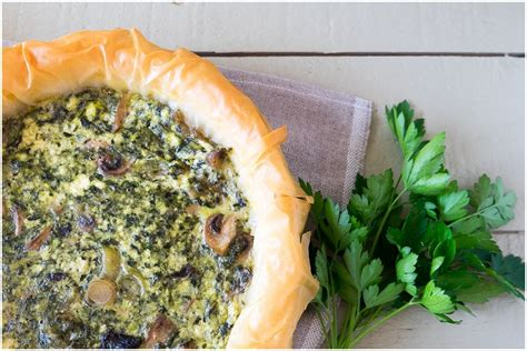 leek swing leek spinach ricotta and pesto quiche recipe lovilee