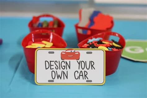 cars themed birthday games disney s cars themed birthday party