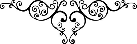 filigree pattern png damask clipart heart filigree pencil and in color damask