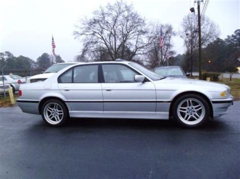 2001 bmw 740i sport package for sale buy used 2001 bmw 740i sport package leather navigation
