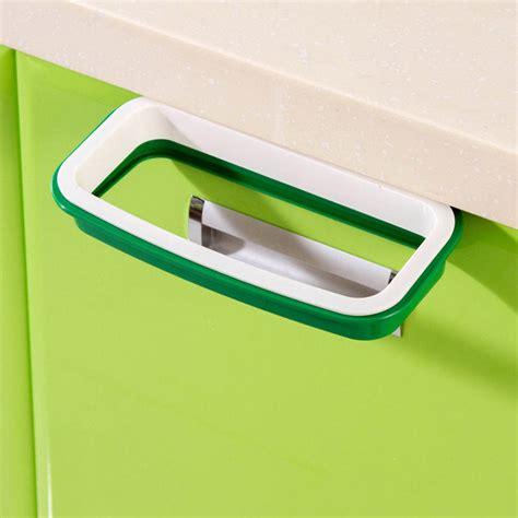 door trash bag holder hanging trash bag holder door back storage garbage bag