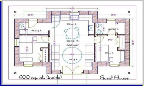 home design 600 square feet modern house plans under 600 sq ft