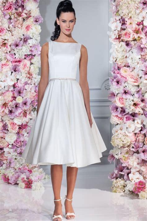 Hochzeitskleid Kurz Schlicht by Brautkleider Gerrys Brautmoden Und Festmoden Neuss