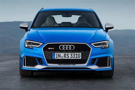 what is the fastest audi car new audi rs3 sportback is world s fastest hatch carbuyer