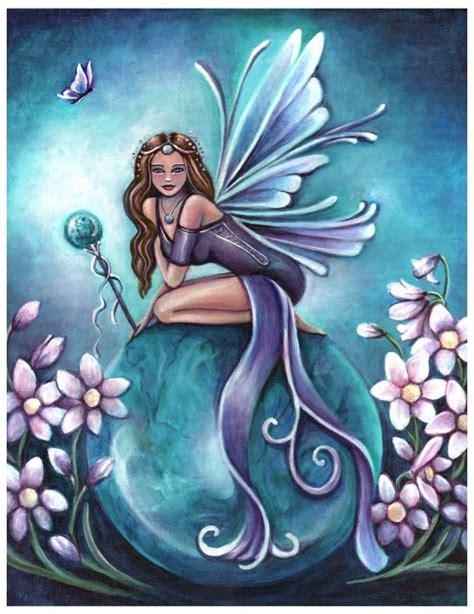 fairy magyk ecards jennifer galasso birthstone fairy december turquoise