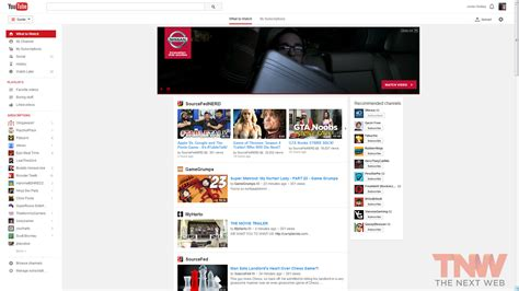 home design youtube channels youtube experimenting with new user interface design