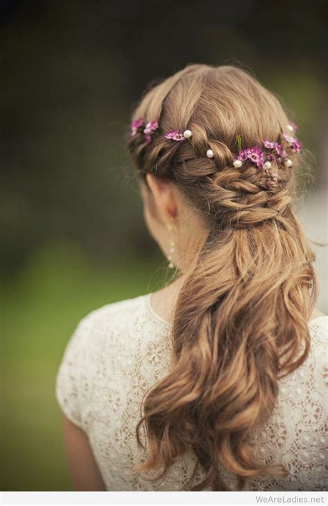 bridal hairstyles with flowers floral hairstyles for your wedding
