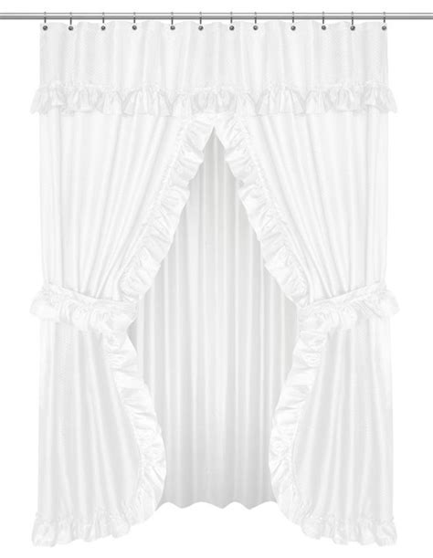 non toxic curtains royal bath double swag peva non toxic bathroom window