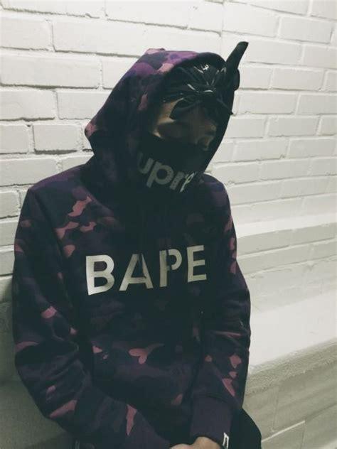 Jaket Hoodie Skate Supreme X Vlone Black Premium bape supreme fashion posts and dots