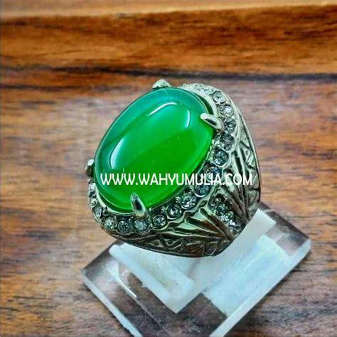 Ijo Topas Chrysoprase cincin batu kristopas hijau asli kode 320 wahyu mulia
