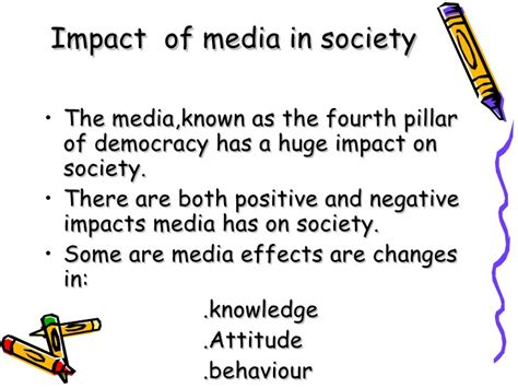 thesis about the effects of social media essay on impact of media on society the positive impacts