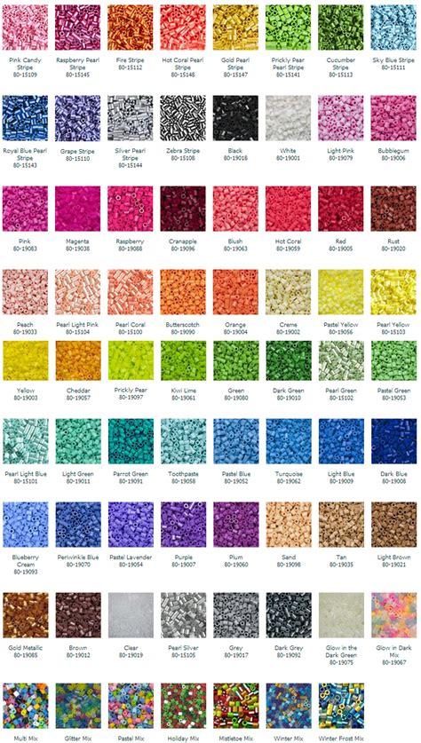 list of perler bead colors bec s perler tutorial on a new hobby part iii