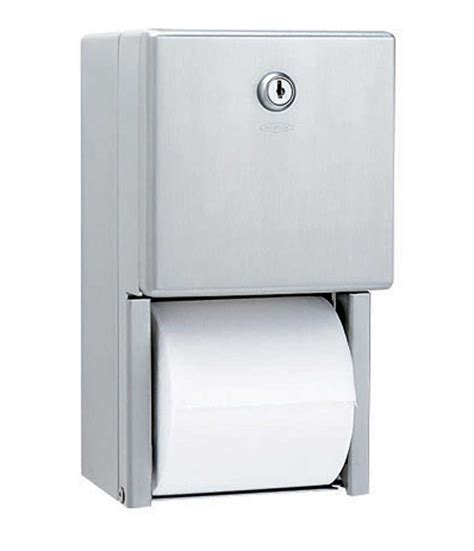 toilet paper dispenser b 2888 surface mounted multi roll toilet tissue dispenser