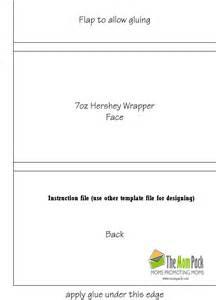 bar wrappers template hershey bar wrapper template wordscrawl