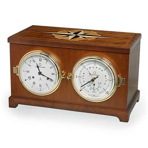 clocks home decor columbus nautical clock and barometer hanging clocks