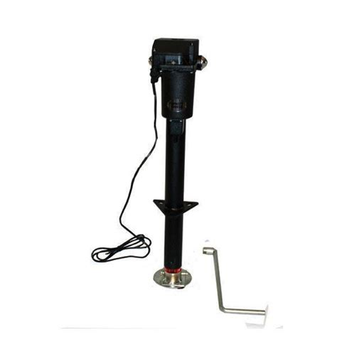 boat trailer electric jack electric and power trailer jacks utility and marine