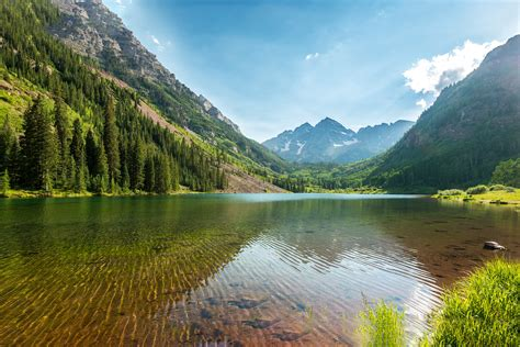4k wallpaper of nature nature lake and mountains 4k hd dell xps 13 wallpapers