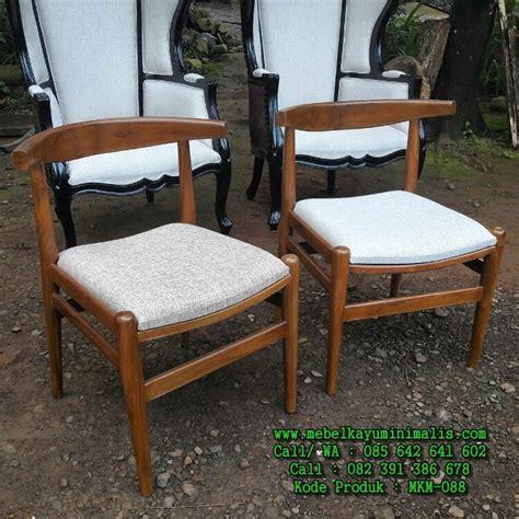 Kursi Kayu Busa kursi kayu jati kafe minimalis busa mebel kayu minimalis
