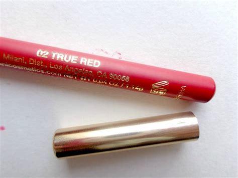 Lip Liner True milani color statement true lip liner review