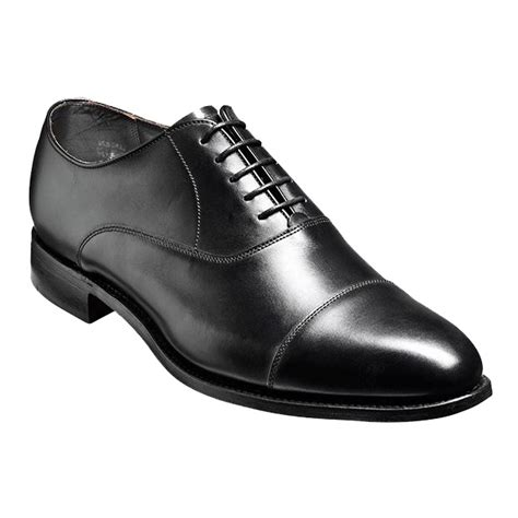 barker duxford classic black oxford shoes for sale black