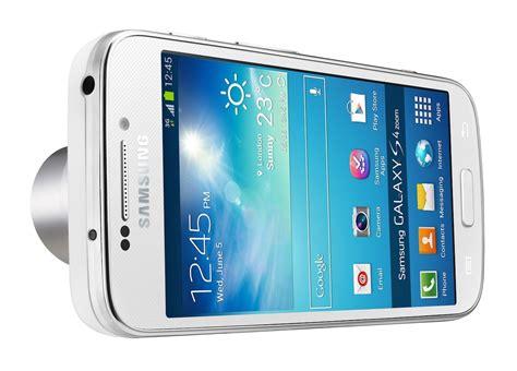 Samsung Galaxy S4 Zoom Phone Samsung Unveils Their Smartest Phone Yet The Galaxy S4 Zoom