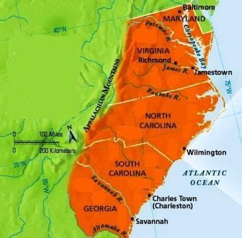southern colonies map 17 best images about 13 colonies on southern