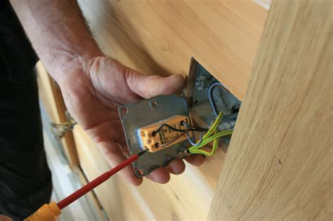 house electrical fitting electrical fittings in the log house ecologhouse