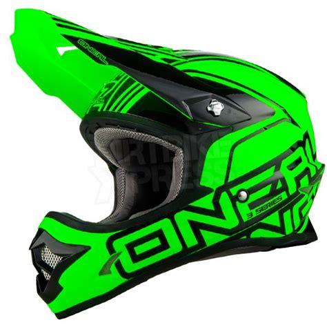green motocross helmet 2016 oneal 3 series motocross helmet lizzy green o