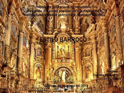 imagenes artisticas del barroco estilo barroco