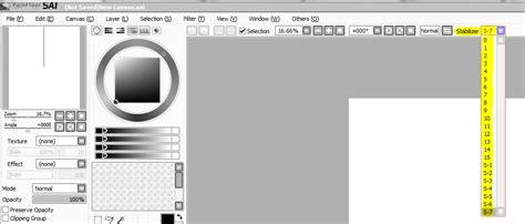 paint tool sai stabilizer doesn t work pe how to achieve smooth and clean lines by astralseed on